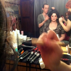 Behind the scenes of the Marie Antoinette Lighting Test