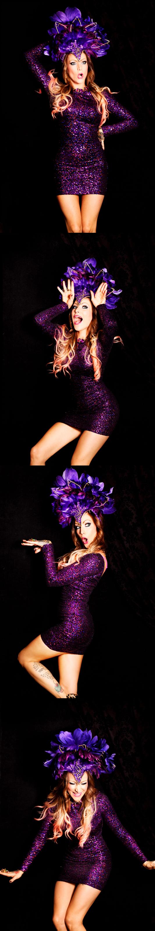 purple showgirl